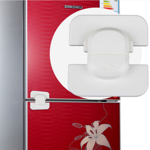 Adhesive Kids Child Baby Safety Lock For Cabinet Door Drawer Cupboard Fridge OS