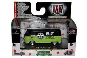 d8e91fa4e4 M2 Machines WILD CARDS 1960 VW Delivery Van USA Model R.WC09 15-54 ...