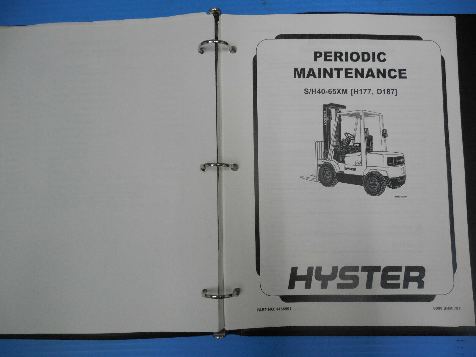 hyster forklift repair manual e50xm