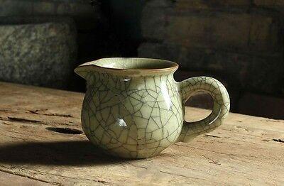 1pc Longquan celadon tea cup creative cup characteristic crack Supplies NEW