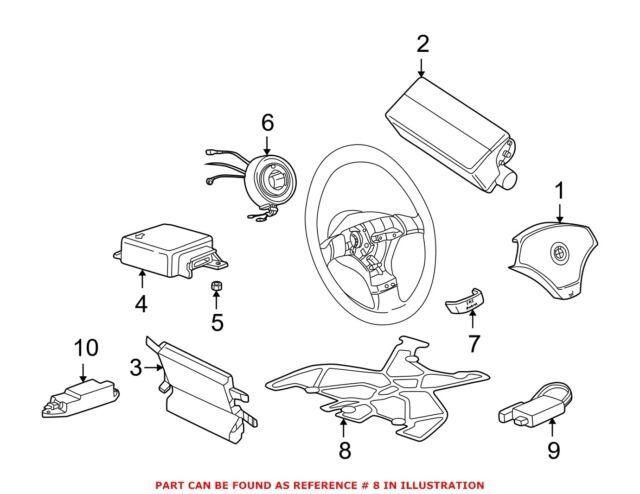 For BMW Genuine Air Bag Seat Sensor Mat Right 65779171318