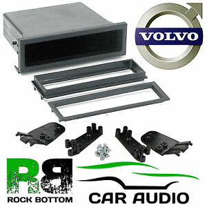 Details about Volvo S40 1996 - 2003 Car Stereo Radio Universal DIN E Fascia  Facia Pocket Tray