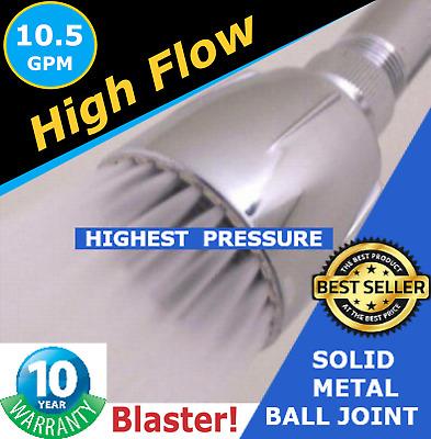 The Super Drencher 10 5 Gpm High Flow High Pressure Shower Head Top Seller 641361815089 Ebay