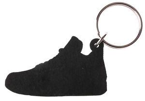 0101d60ca93d37 Good Wood NYC Retro Bred 4 Sneaker Keychain Black Grey IV Shoe Ring ...