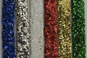 50-g-Coarse-PVC-Glitter-040-034-Choose-from-Red-Green-Gold-White-Silver-Blue