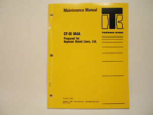 Pleasant Thermo King Cfiii M4A Maintenance Manual Wiring Diagrams Container Wiring Digital Resources Spoatbouhousnl