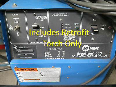Miller Spectrum 500 Replacement Retrofit 19 Foot Plasma Cutter Torch Fix Repair