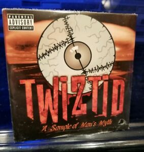 Twiztid-Man-039-s-Myth-Sampler-CD-rare-insane-clown-posse-esham-lavel-blaze-mne