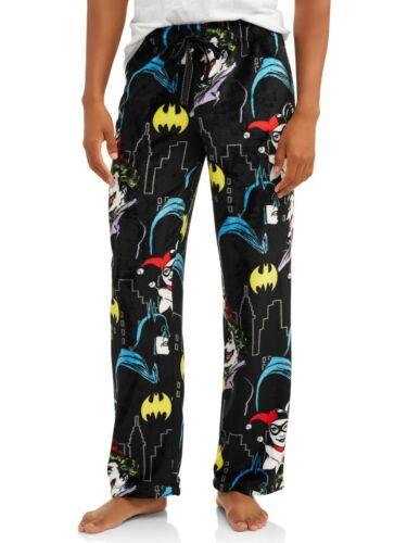 DC Comic Women Lounge Pants Pajama Batman Joker Harley Quinn Batgirl PJ XL 16 18