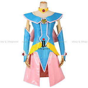 Image is loading Yu-Gi-Oh-Game-King-Dark-Magician-Girl-  sc 1 st  eBay & Yu-Gi-Oh! Game King Dark Magician Girl Uniform Cosplay Costume Cos ...