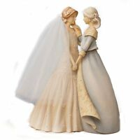 Enesco Foundations Mother And Bride Figurine, 9-inch , New, Free Shipping on sale