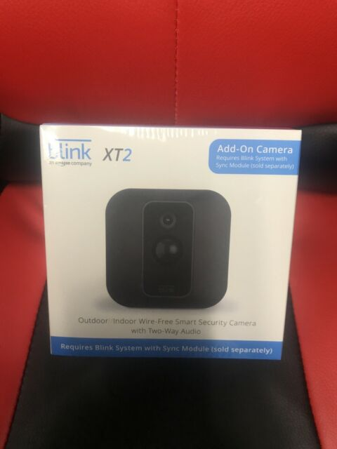 Blink XT2 Indoor/Outdoor WiFi Wire-Free 1080p Add-On Security Camera