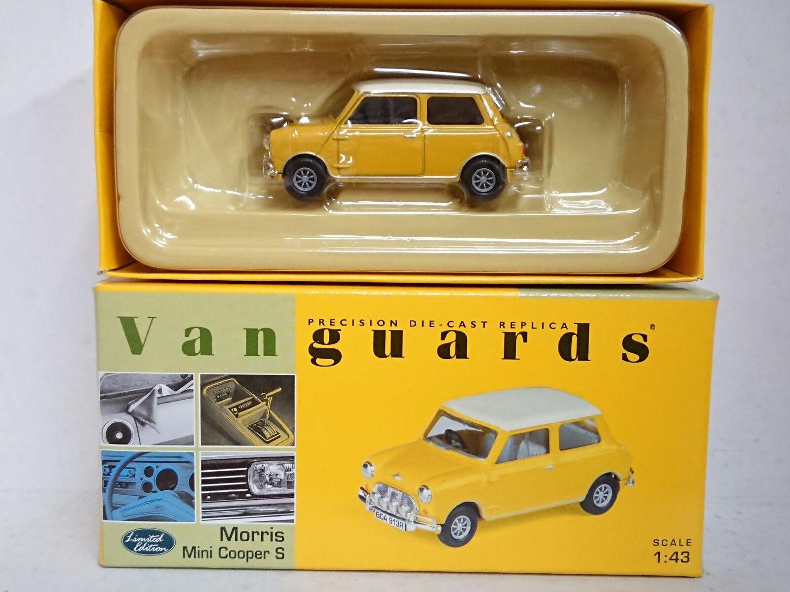 Corgi VA02509 Morris Mini Cooper S Yellow & White Ltd Edition No. 0004 of 5000