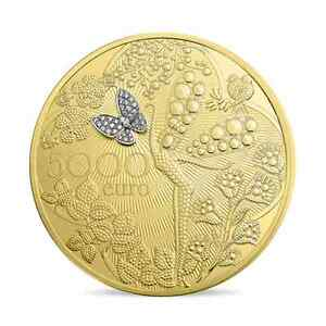 5000-euro-France-2016-or-BE-Van-Cleef-amp-Arpels-extrement-rare-11-pieces