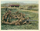 N°15 British Army Infantry MG Machine gun Soldiers/Reichswehr Germany 30' CHROMO