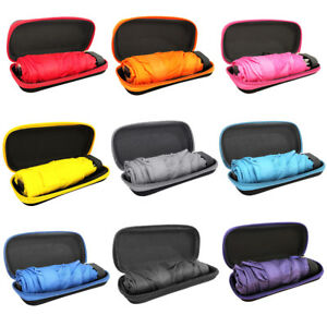 d1d3596d5e77 Details about Folding Compact Super Windproof Anti-UV Rain Sun Travel  Pocket Umbrella Portable