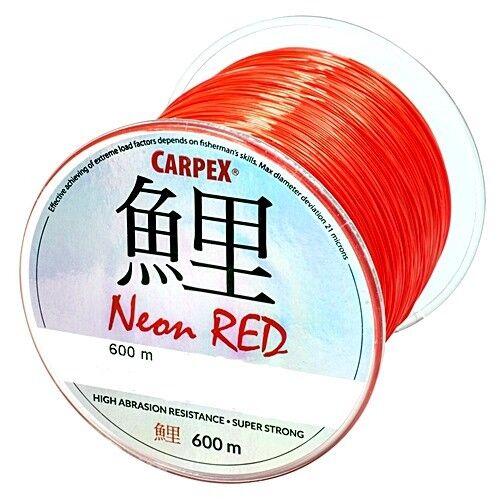 Robinson Carpex Neon Red 0,26 mm 14 kg 600 m