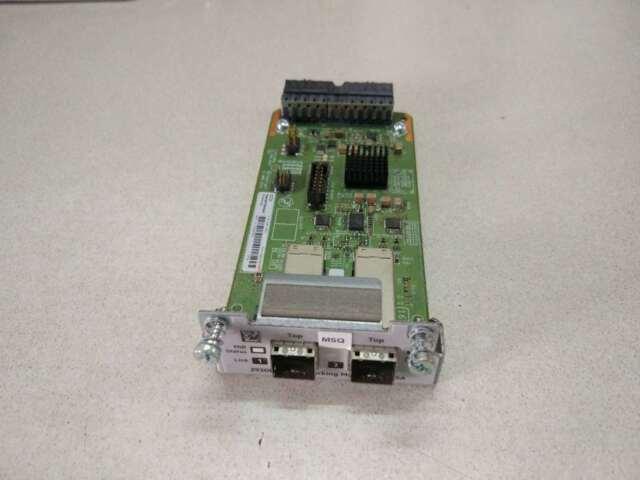 Genuine HP /Aruba 2930M 2-Port Stacking Module-JL325A Tested