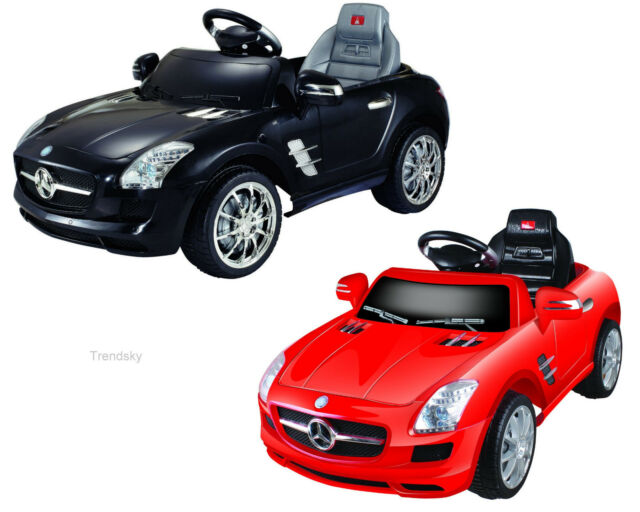 Mit Lizenz ! Mercedes-Benz SLS AMG Kinderauto Kinderfahrzeug Kinder Elektroauto