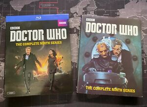 DOCTOR-WHO-The-Complete-NINTH-SERIES-Season-9-Blu-ray-4-Disc-w-Slipcover