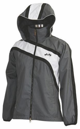 Equine Couture Southfields Rain Shell Waterproof Jacket with Stowaway Hood