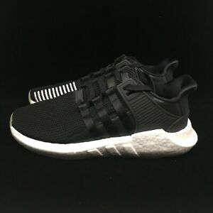 online retailer 7341e 59555 Details about Adidas EQT Support 93/17 Black White Light Gum PK Boost  Stripes BZ0585 Originals