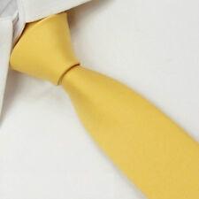 D.berite Khaki Silk Man Wedding Party Groom Solid Skinny Slim Tie Necktie SK20