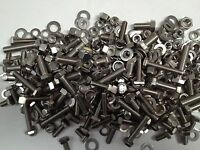ASSORTED STAINLESS METRIC- 330 - NUTS BOLTS &  WASHERS