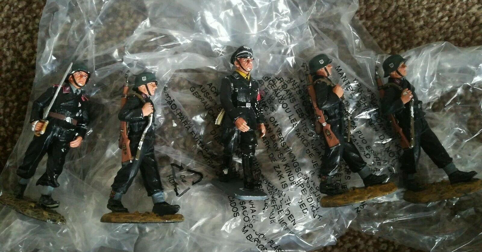 Iron Sky Production Used SS Soldiers King And Country Country With COA