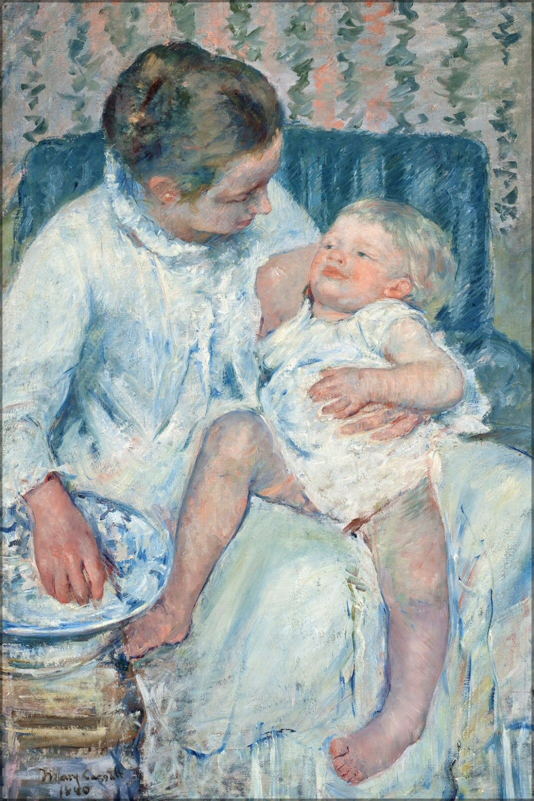 Poster, Molte Misure; Mary Cassatt Mother About per Lavare Lavare Lavare Lei Assonnato baba6c
