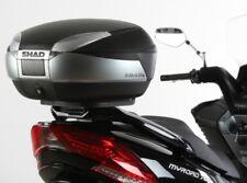 SHAD Y0FZ16ST Top Case Fitting Kit for Yamaha Fazer 1000 2006-2011 Black