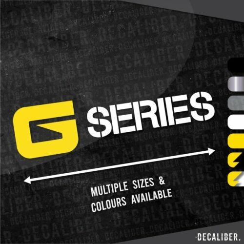 Multiple Sizes /& Colours John Deere Long G Series Sticker Decal Harvester