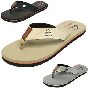 Alpine-Swiss-Mens-Flip-Flops-Beach-Sandals-Lightweight-EVA-Sole-Comfort-Thongs