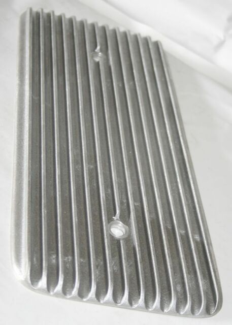 Finned Ford Y-Block Valley Cover Unpolished Hot Rod Rat Custom  272 292 312