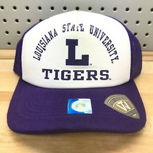 Louisiana State University LSU Tigers NCAA College Vault TOW Trucker Hat NWT