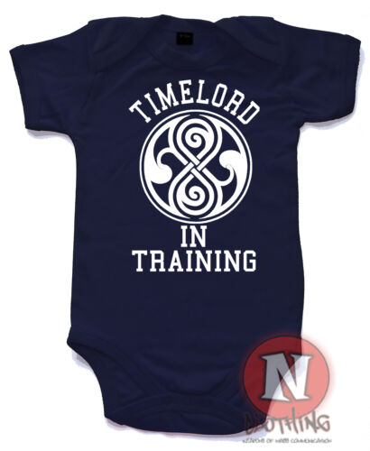 Timelord in Training Strampler Baumwolle Dr Who Gallifrey Peter Capaldi