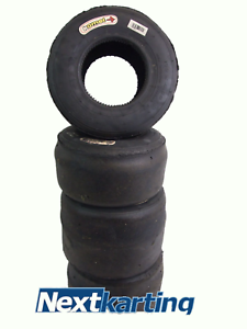 10 Sets Of Komet K1H - 40 lap old - X30 Slick Go Kart Tyres - Rotax X30 - X10