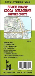 City Street Map Of Space Coast Melbourne Cocoa Brevard Co