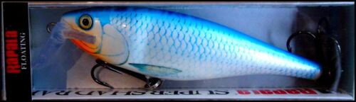 Blue Shiner color RAPALA SUPER SHAD RAP SSR 14 cm BSH