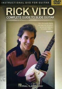 Rick Vito - Complete Guide to Slide Guitar [New DVD]