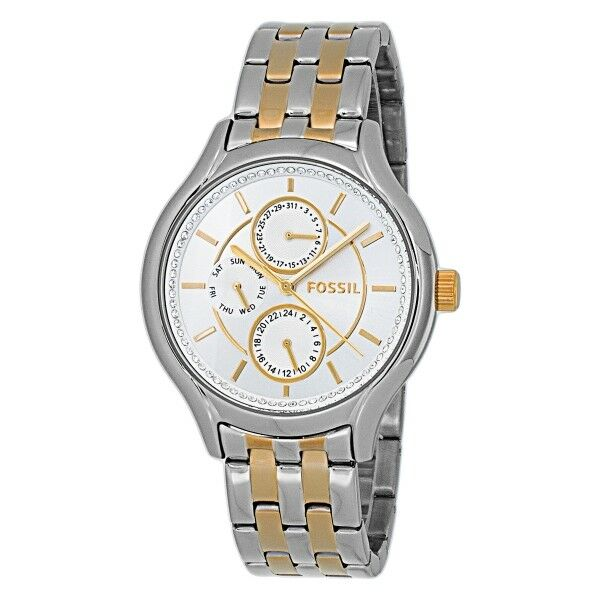 Fossil Bq1584 Uhr Damen Marken Armbanduhr Edelstahl Ebay