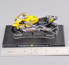 1/18 Scale VALENTINO ROSSI Honda NSR 500 46# World Champion 2001 Motorcycle Toys