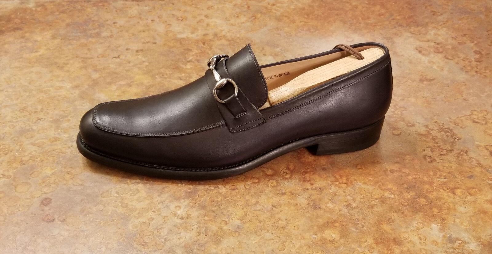 nuevo  Mezlan 'Worcester' Bit Mocasín Zapatos Negro Cuero Hombre M precio minorista sugerido por el fabricante