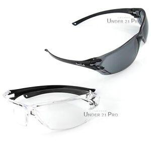 Lunettes-de-protection-Bolle-PRISM-blanc-noir-tir-sport-competition-chasse-moto