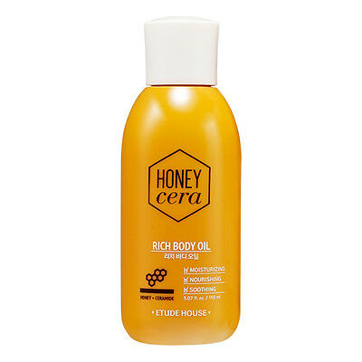 [Etude House] Honey Cera Rich Body Oil 150ml