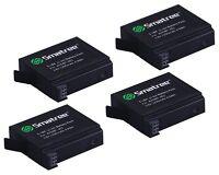 4 X Smatree Gopro Hd Hero 4 Go Pro Li-ion 1290mah Battery Hero4 Batteries
