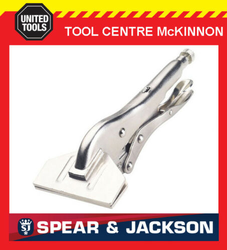 78mm JAW ECLIPSE BY SPEAR /& JACKSON VISE GRIP STYLE LOCKING SHEET METAL TOOL
