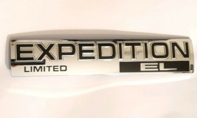2007-2014 Ford Expedition Liftgate Emblem Nameplate Chrome new OE 9L1Z-4042528-C