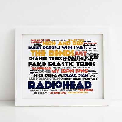 James Band Poster Framed Original Art Seven Album Print Lyrics Gift