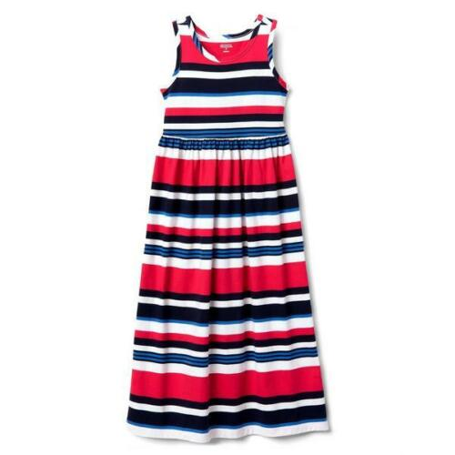 NWT Gymboree July 4th Striped Maxi Dress girls 4,5//6,7//8,14 Red White Blue